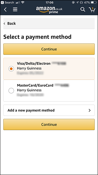 How To Change Your Default Credit Card On Amazon And Clean Up The List