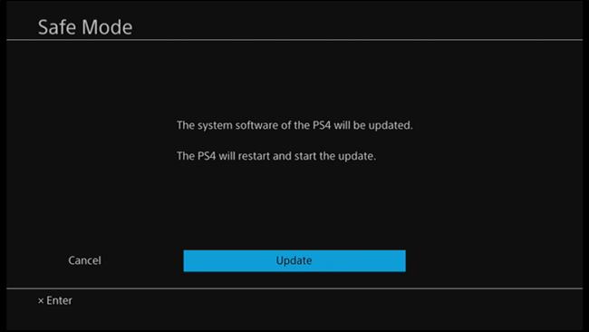 How to Manually Update the PlayStation 4 or Pro