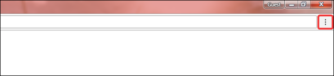 click menu button