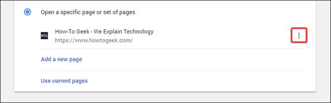 click menu buttons
