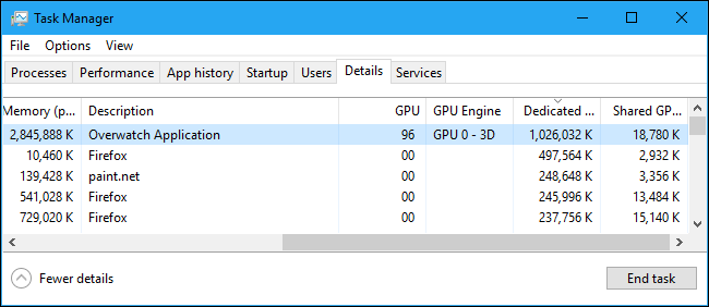 How to Monitor GPU Usage in the Windows Task Manager