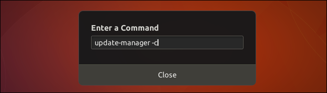 """Type """"update-manager -d"""""""
