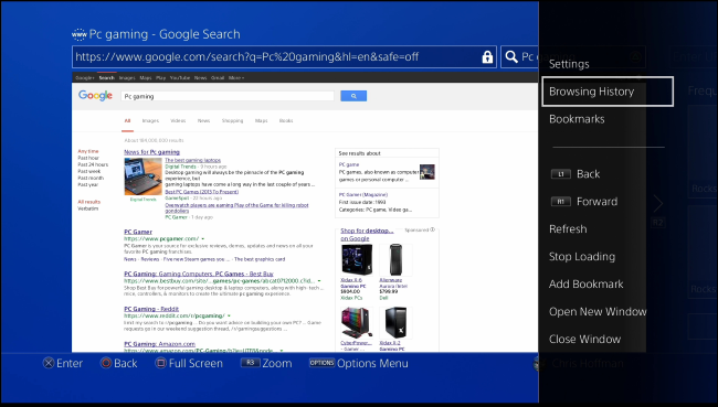 How to See or Clear the Browsing History on Your PlayStation 4