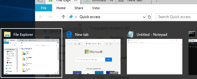 Windows 10 is Changing How Alt+Tab Works, Here's What You Need to Know