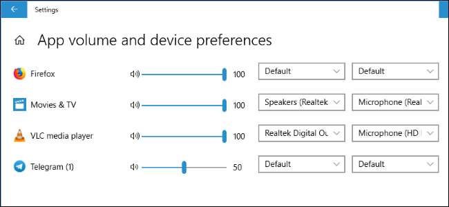 547c2f555c9 How to Set Per-App Sound Outputs in Windows 10