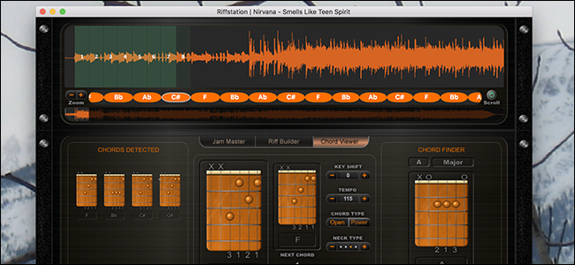 Free Download Fenders Riffstation Shows You Chords For Any Song
