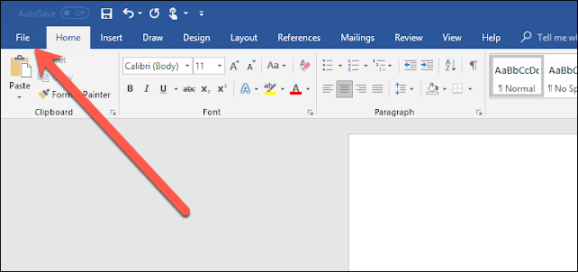 convert a document to pdf using word