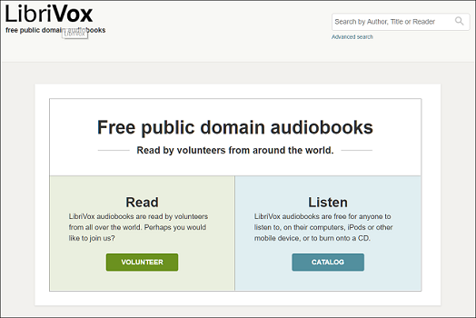 The best places to find free audiobooks legally project gutenberg is a volunteer run repository started in 1971 that works to digitize and archive cultural work to encourage the distribution of ebooks fandeluxe Images