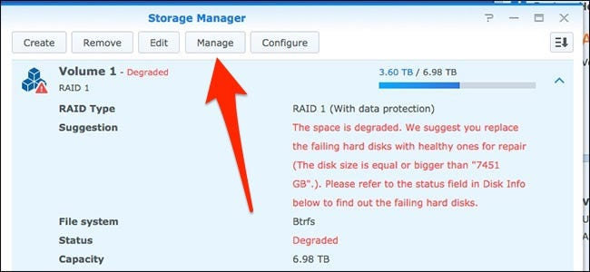 How to Replace a Failed Hard Drive in Your Synology NAS – CHEPA website