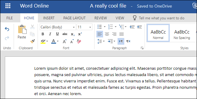 Word Online Is Microsofts Own Cloud Based Solution For Working With Files Its Part Of The Microsoft Office Suite And You Can Access It