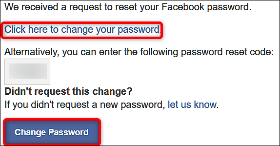 Retrieve Fb Password