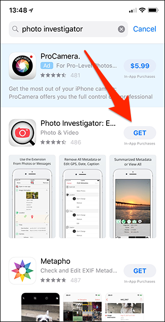 How to View EXIF Metadata for Photos on an iPhone or iPad