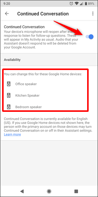 How to Enable and Use Continued Conversation on Google Home