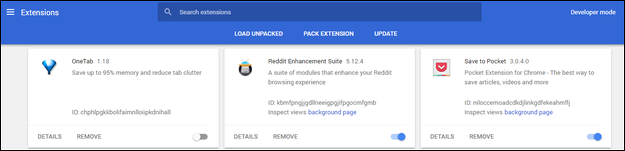 Disable extensions one-by-one to find any that might be causing issues