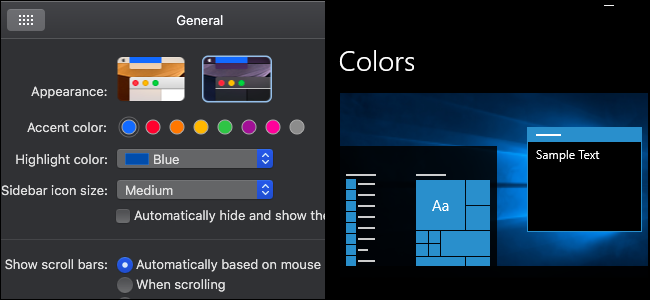 macOS Mojave's Dark Mode Puts Windows 10's to Shame