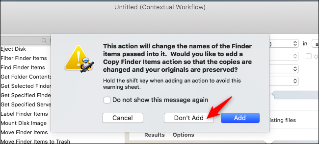 How to Create Your Own Quick Actions on macOS Mojave