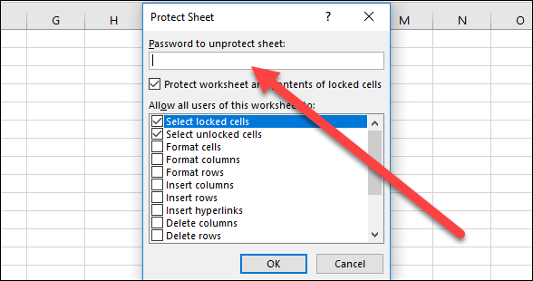 How to Protect Workbooks, Worksheets, and Cells From Editing