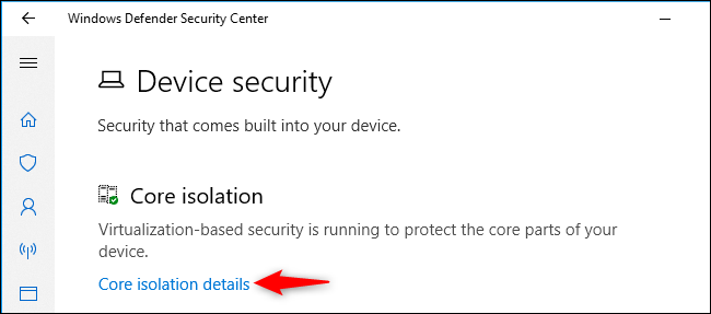 """What Are """"Core Isolation"""" and """"Memory Integrity"""" in Windows 10?"""