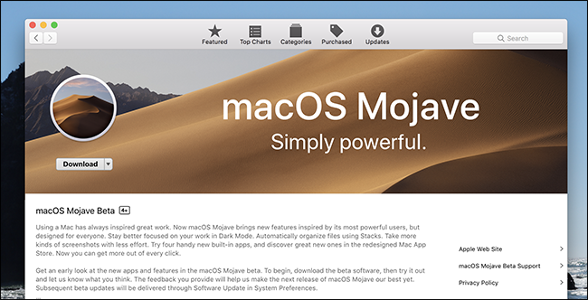 How to Try the macOS Mojave Beta Right Now