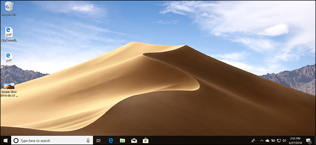 Get Mojave's Dynamic Wallpaper in Windows and Linux Right