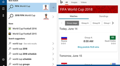 Quickly Check World Cup Scores With Cortana or Spotlight