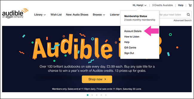 The ability to return or exchange titles you don't enjoy is one of the many benefits of being an Audible member. If you love listening to Audible audiobooks, having a membership will allow you to return or exchange audiobooks as well as give you access to exclusive savings and more. Visit our Membership Benefits page to learn more.