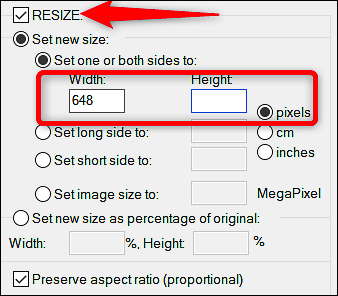 How To Resize Images And Photos In Windows