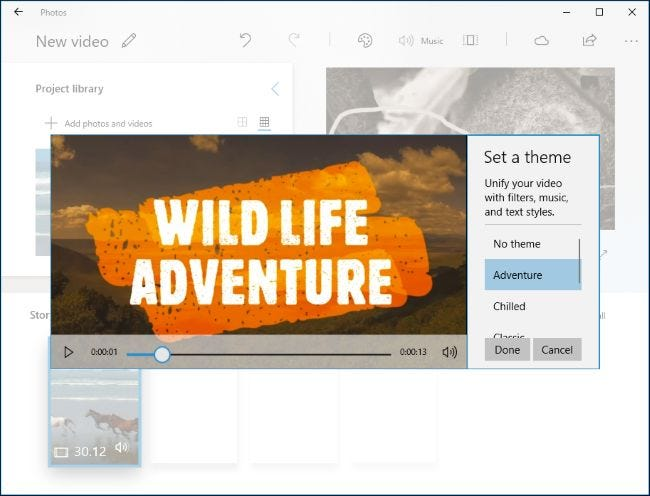 editar videos windows 10