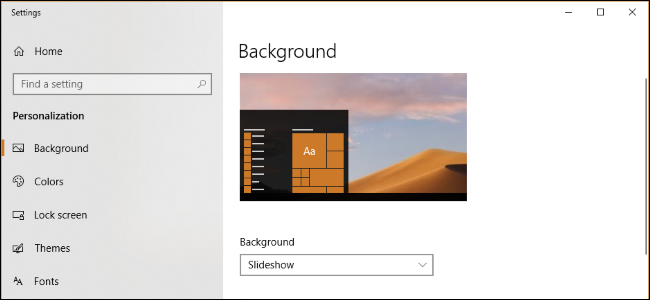 How To Change Windows 10s Wallpaper Based On Time Of Day