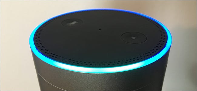 Alexa listening on an Amazon Echo