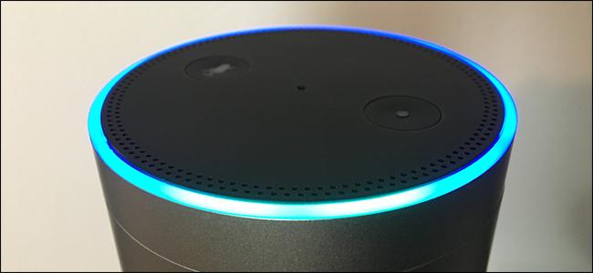 Alexa listening on an Amazon Echo