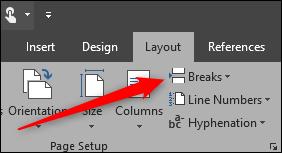 Page Breaks in Microsoft Word