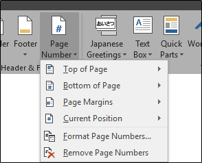 How to Work with Page Numbers in Microsoft Word
