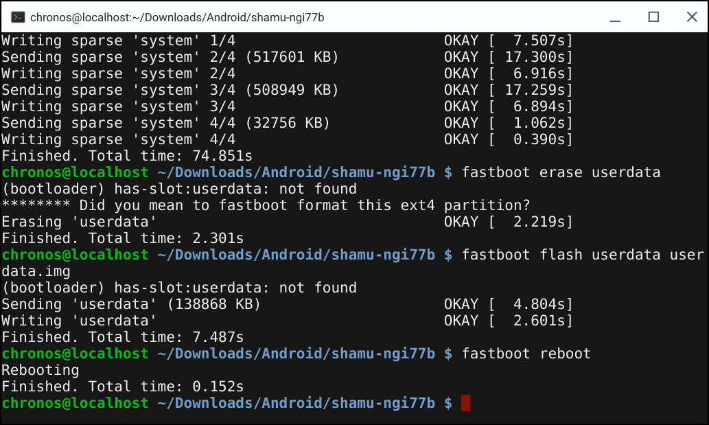 How to Use ADB and Fastboot on a Chromebook