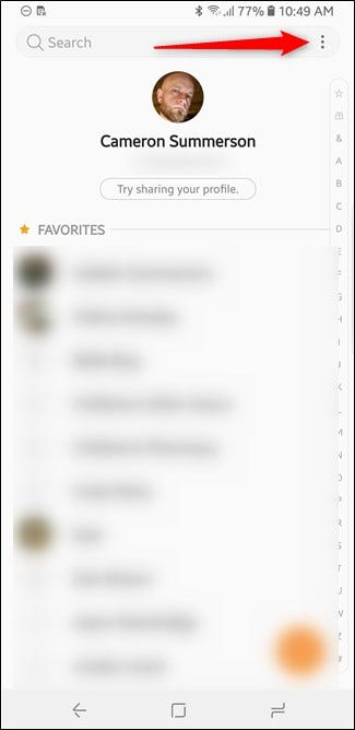 How to Manually Export and Back Up Contacts on Android