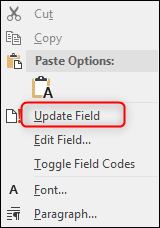 Update Field