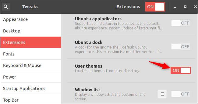 How to Install Desktop Themes on Ubuntu 18 04 LTS