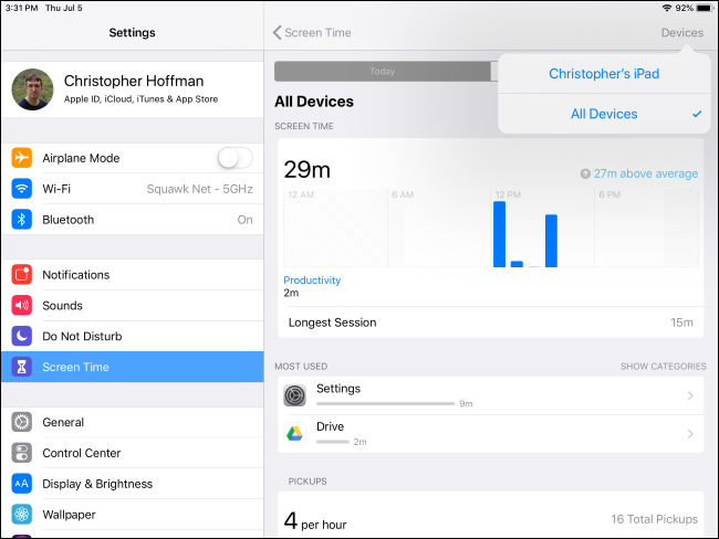 How to Use and Configure Screen Time on Your iPhone or iPad