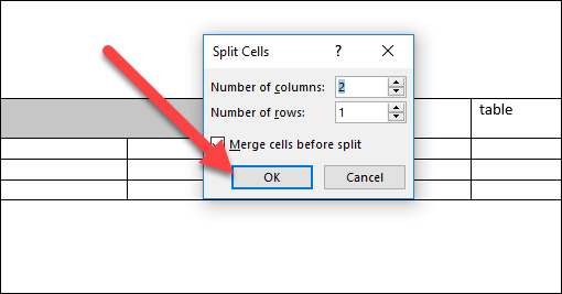 How to Merge and Split Tables and Cells in Microsoft Word