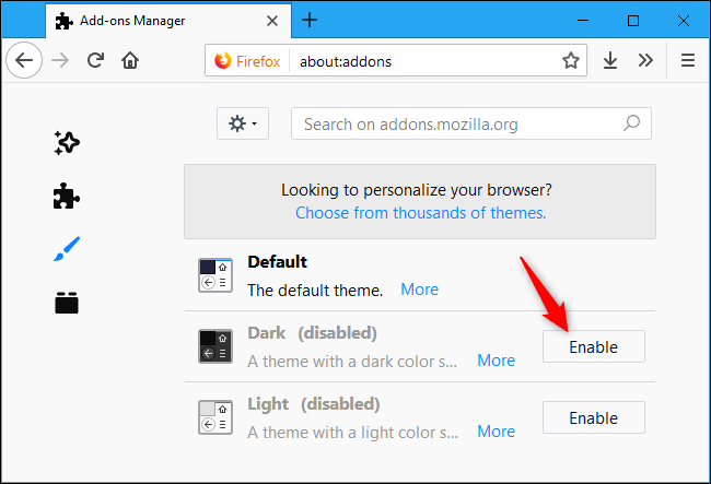 How to Enable Dark Mode in Firefox