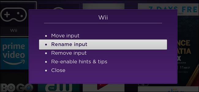 How To Rename AV Inputs On Roku TVs
