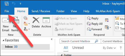 How to Turn Off New Message Alerts in Microsoft Outlook 2016
