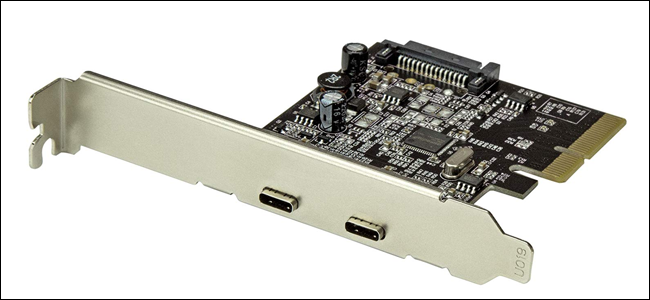 USB-C, PCI-E, motherboard, expansion card