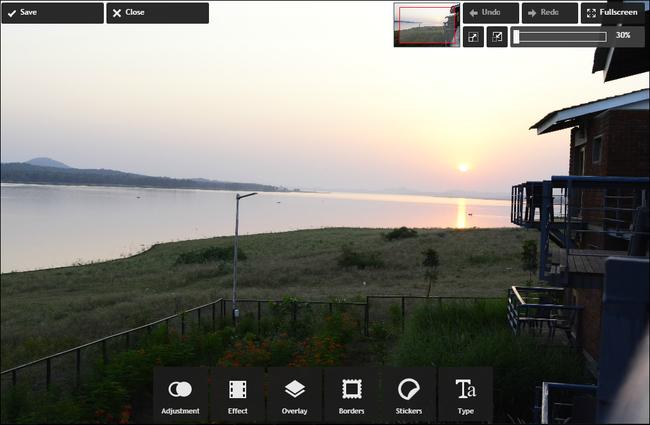 pixlr-express-interface
