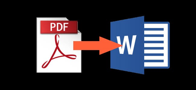 how to edit a pdf document in ms word