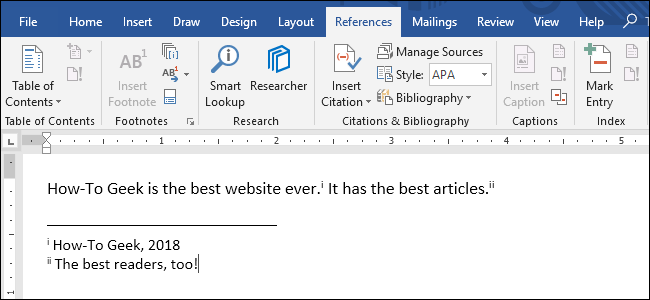 format endnotes in word for mac