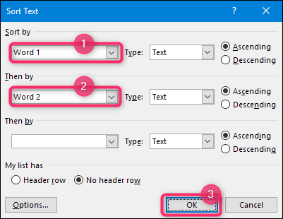 How to Alphabetize Lists and Tables in Microsoft Word