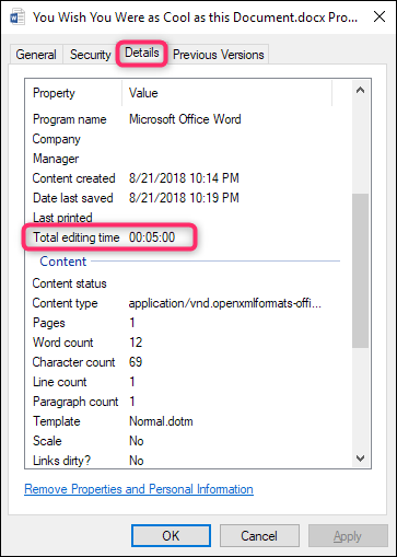 How To Tell How Long You've Worked On A Microsoft Word