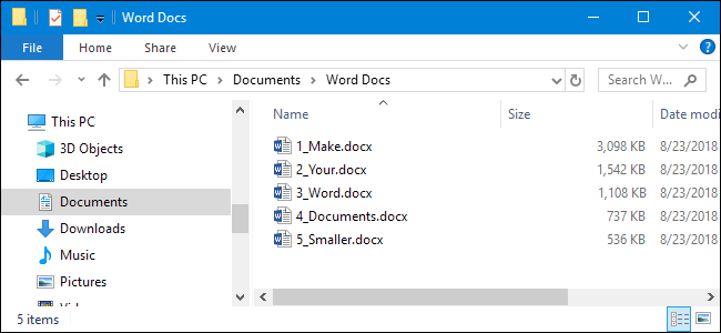 How to Reduce the Size of a Microsoft Word Document