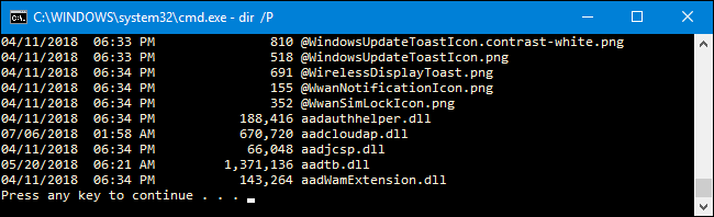 How to Use the DIR Command in Windows